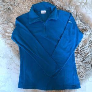 Columbia Half-Zip Long-Sleeve Fleece Pullover